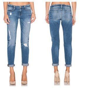 FRAME Denim Le Garçon Jeans in Amherst Wash